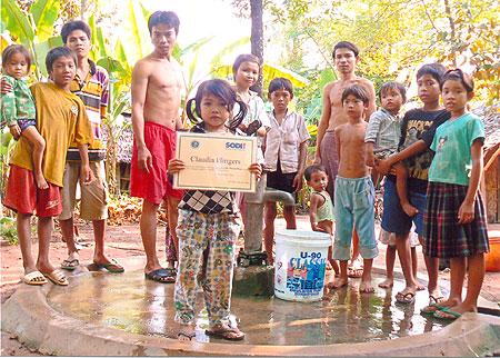 ein neuer Brunnen in Tani